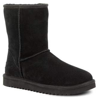 Koolaburra BY UGG Classic Short Genuine Shearling & Faux Fur Lined Boot