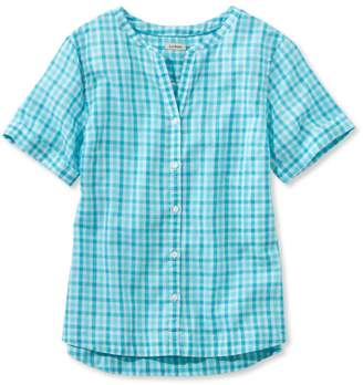 L.L. Bean L.L.Bean Easy Cotton Shirt, Gingham