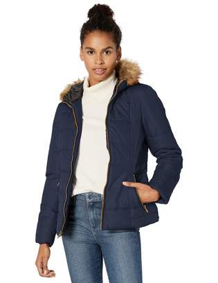 Celebrity Pink Celebritypink CelebrityPink Women's Warm Winter Jacket with Faux Trimmed Hood