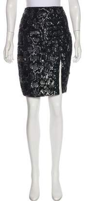 AllSaints Knee-Length Sequin Skirt