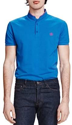 The Kooples Shiny Piqué Classic Fit Polo