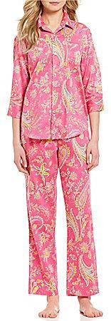 Lauren Ralph LaurenLauren Ralph Lauren Paisley Sateen Pajamas
