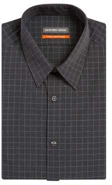 Geoffrey Beene Fitted Wrinke-Free Broadcloth Dress Shirt