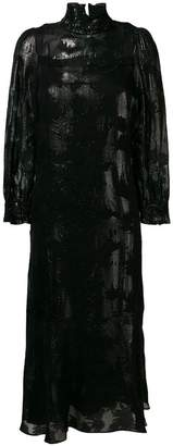 Schumacher Dorothee leaves print dress