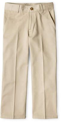 Izod EXCLUSIVE Flat-Front Reinforced Knee Pants Boys 8-20, Slim and Husky