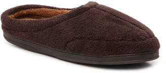 Dearfoams Microfiber Terry Cloth Slipper - Men's