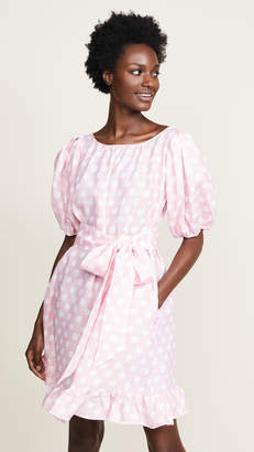Lisa Marie Fernandez Mini Linen Prairie Dress