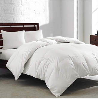 Royal Luxe White Goose Feather & Down 240-Thread Count Full/Queen Comforter