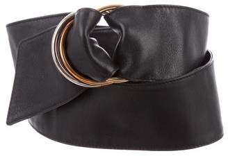 Cartier Trinity Leather Wrap Belt