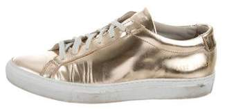 Common Projects Woman by Metallic Achilles Low-Top Sneakers