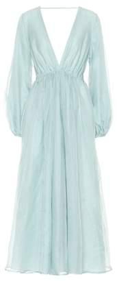 Kalita Aphrodite silk organza gown