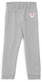 True Religion Little Girl's Logo Sweatpants