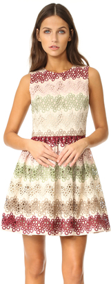 alice + olivia Joyce Crew Neck Party Dress $595 thestylecure.com
