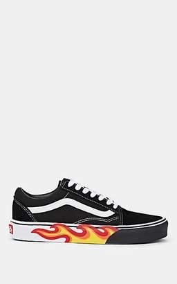 Vans Women's Old Skool Canvas & Suede Sneakers - Black