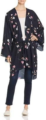 Vero Moda Long Floral-Print Kimono