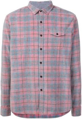 Michael Bastian plaid classic shirt