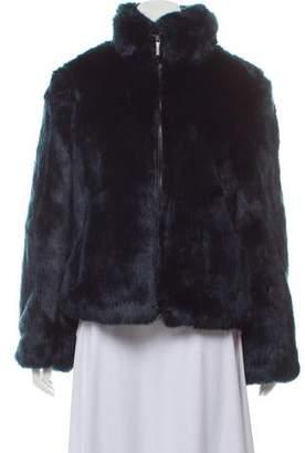 494fb77b1adf MICHAEL Michael Kors Faux Fur Zip-Up Jacket