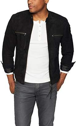 Blank NYC [BLANKNYC]] Men's Suede Jacket Outerwear