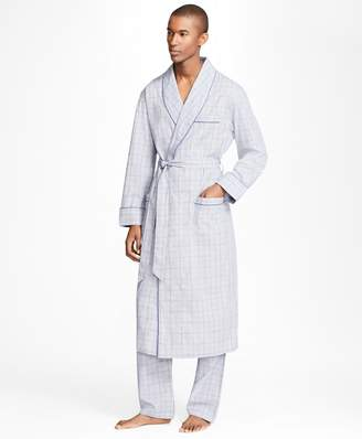 Brooks Brothers Plaid with Deco Robe