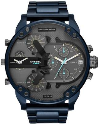 Diesel R) Mr. Daddy 2.0 Chronograph Bracelet Watch, 57mm
