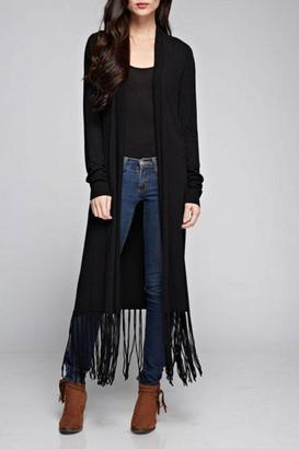 Lovestitch Long Sleeve Duster $118 thestylecure.com
