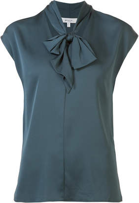 Milly pussy bow fastened blouse s