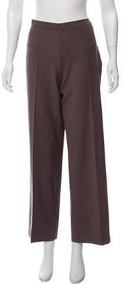 Agnona Wool Mid-Rise Pants brown Wool Mid-Rise Pants