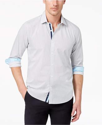 Ryan Seacrest Distinction Ryan Seacrest DistinctionTM Men's Slim-Fit Geo-Print Shirt, Created for Macy's