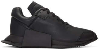 Rick Owens Black adidas Originals Edition New Runner Sneakers