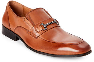 Steve Madden Cognac Mendal Leather Bit Loafers
