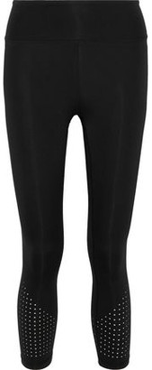 Iris & Ink 'bonnie' Ropped Perforated Stretch Leggings