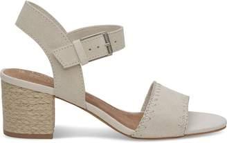 Toms Birch Suede Women's Rosa Sandals