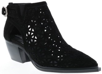 Sbicca Laser Cut-Out Ankle Booties - Calera