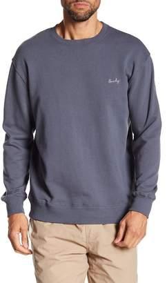 Barney Cools Cools Micro Script Crew Neck Sweater