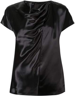 Jil Sander gathered detail blouse