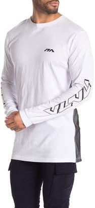 nANA jUDY Long Sleeve Mesh Panel Shirt