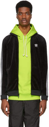 adidas Black Cozy Track Jacket