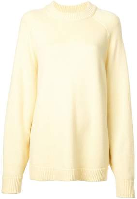 Tibi oversized crew neck jumper
