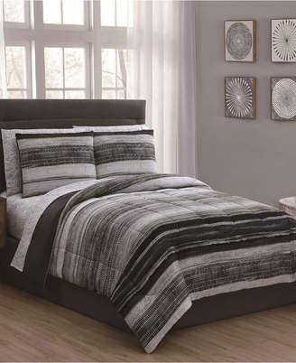 Geneva Home Fashion Laken 5-Pc Twin Bed in a Bag Bedding