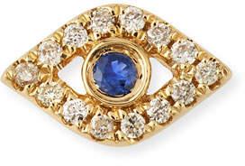 Sydney Evan 14k Diamond Mini Evil Eye Single Stud Earring