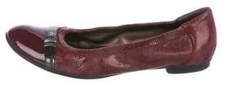 AGL Leather Round-Toe Flats