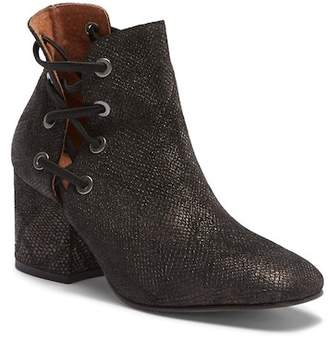 Hudson London Kris Snake-Embossed Bootie