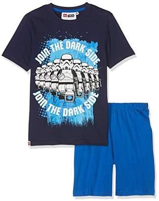 Star Wars FABTASTICS Boy's Pyjama Set Star Troopers, Multicoloured (Blau)