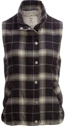 Dylan Melange Flannel & Frosty Tipped Classic Vest - Women's