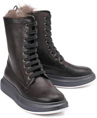 Brunello Cucinelli Leather Boot
