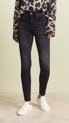 Blank The Bond Mid Rise Skinny Jeans