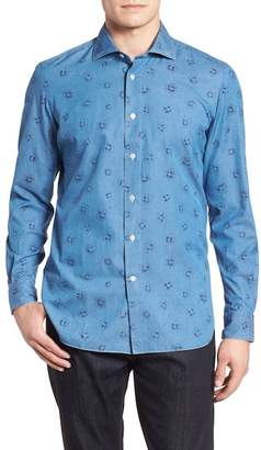 Luciano Barbera BLUE FLORAL