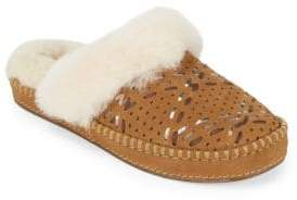 UGG Aira Tehuano Slippers with Fur