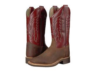 Old West Kids Boots Broad Square Toe Crepe (Big Kid)