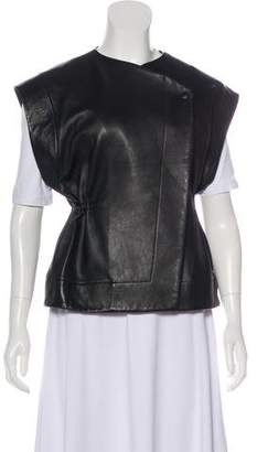 IRO Oversize Leather Vest